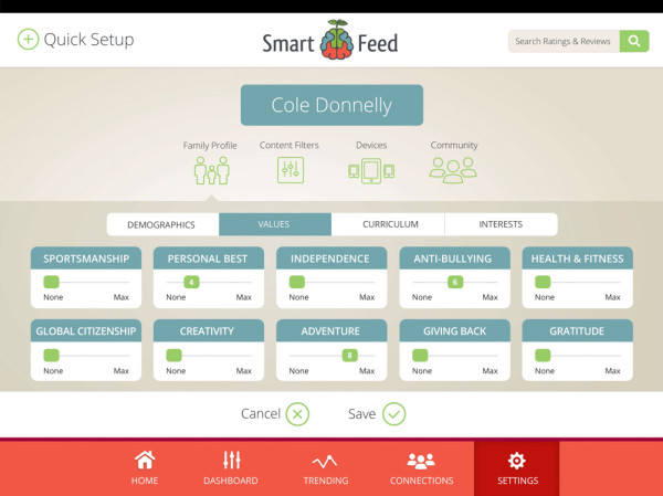 SmartFeed Curate