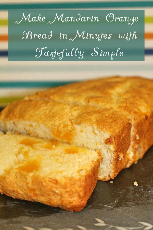 Tastefully Simple Orange Bread 3