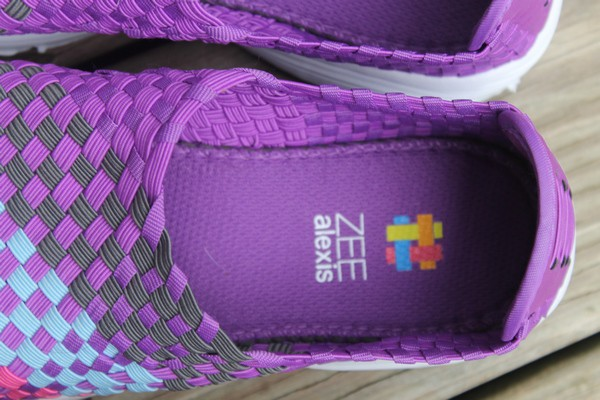 Zee Alexis Cloud sneakers, with hand-woven memory elastics, are literally like walking on little bitty clouds. Check out my review!