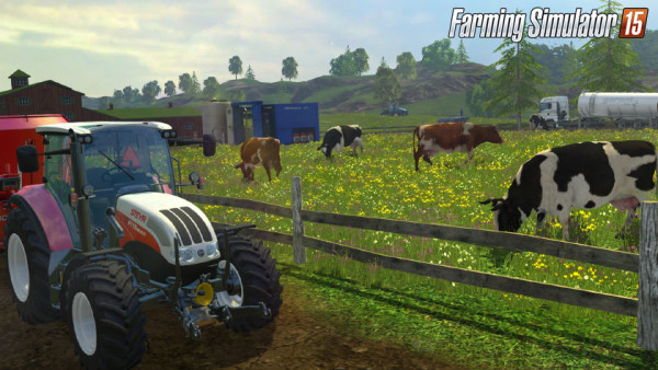 Live the Farm Life Like Never Before with Farming Simulator 15
