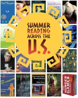 Looking for an idea to motivate you to read more? Check this out: summer reading across the U.S, with one great writer from every state! Covers all genres!
