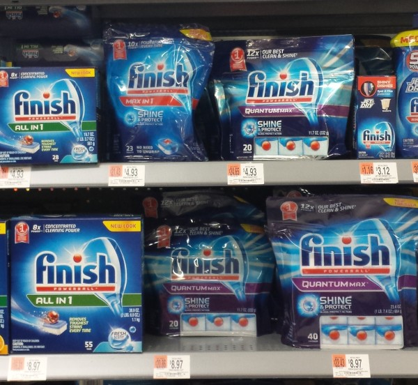 Finish Max in One Walmart Get Sparkling Clean Dishes + Amazing Deals with Finish® Jet Dry® Offers