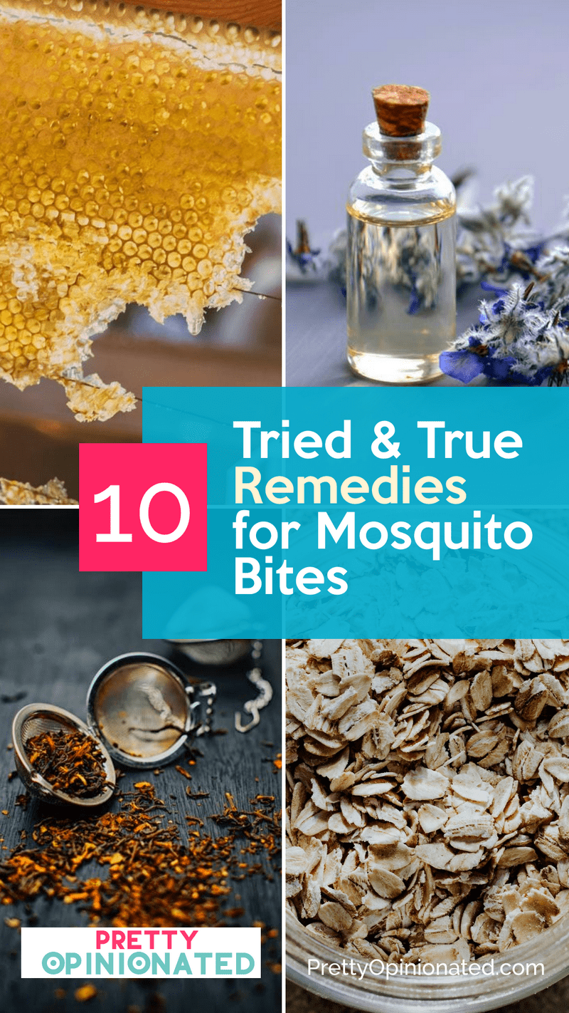 While you can't avoid bug bites entirely, you can take the sting out of the downside of summer with these 10 tried and true remedies for mosquito bites! Check them out!