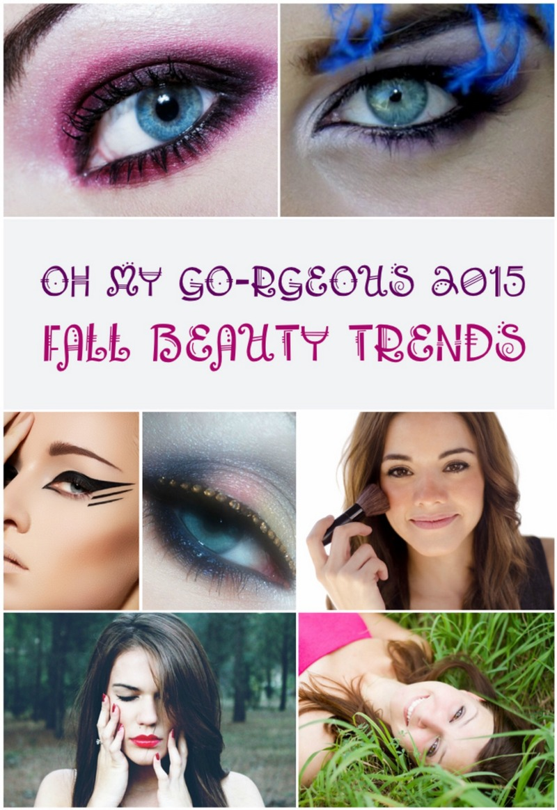 Grab your favorite pen and get ready to take notes so you can try out these gorgeous 2015 fall beauty trends!