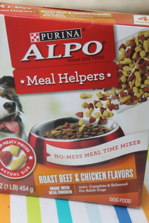 Get Your Finicky Dog Digging In With Purina #AlpoMealHelpers