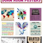 8 Absolutely Cool Posters for Your Dorm Room Wall