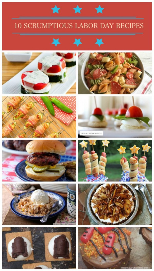 Need a few delicious Labor Day recipes? How about 10 that take you from appetizer to dessert? Check out a few of my favorite Labor Day recipes from the best food bloggers around.