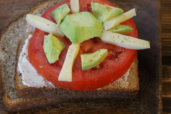 Tomato Avocado Carousel Sandwich Recipe with Nature's Harvest Bread