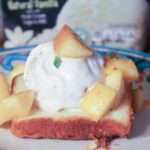 Pound Cake & Peaches Sundae Recipe with Breyers Natural Vanilla Ice-Cream