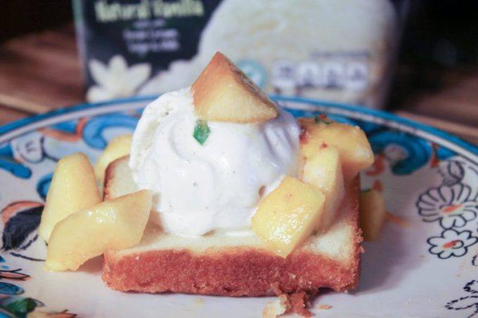 Pound Cake & Peaches Sundae Recipe (13 of 20)