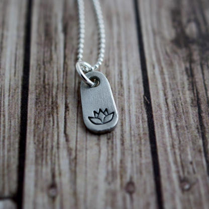 Simply Beautiful Gifts that Make Anyone Feel Special From Simpli Stamped: Teeny Tag Lotus