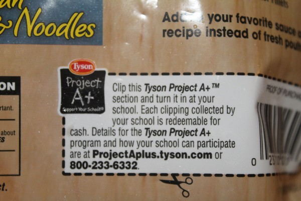 Nominate Your Amazing School for Tyson Project A+™ at Walmart!