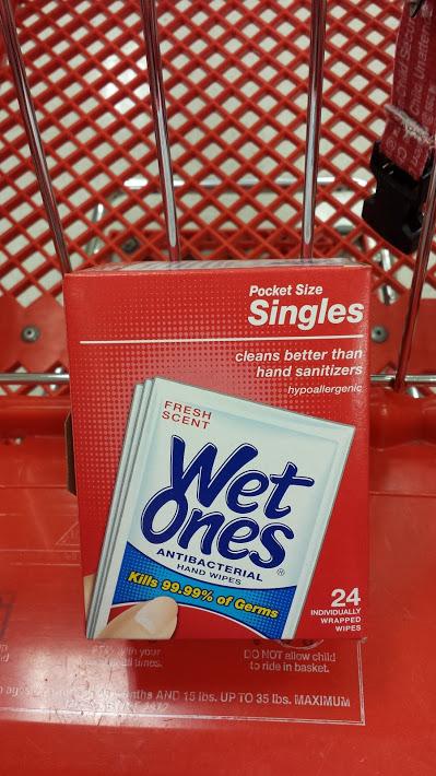 WetOnes Target