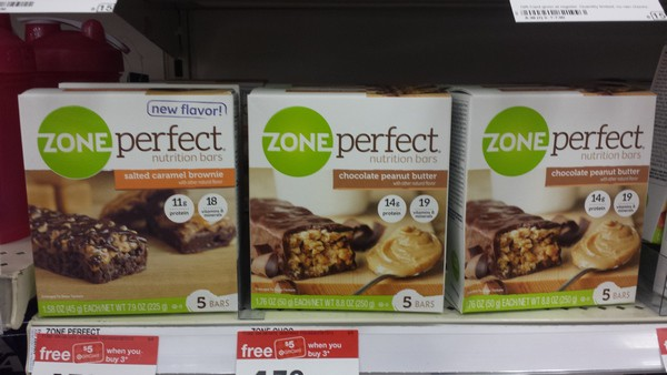 Grab ZonePerfect® at Target for a Quick & Easy Snack