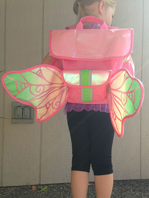Delight Your Kids with Bixbee Fairy Flyer Backpack with Light Up Wings
