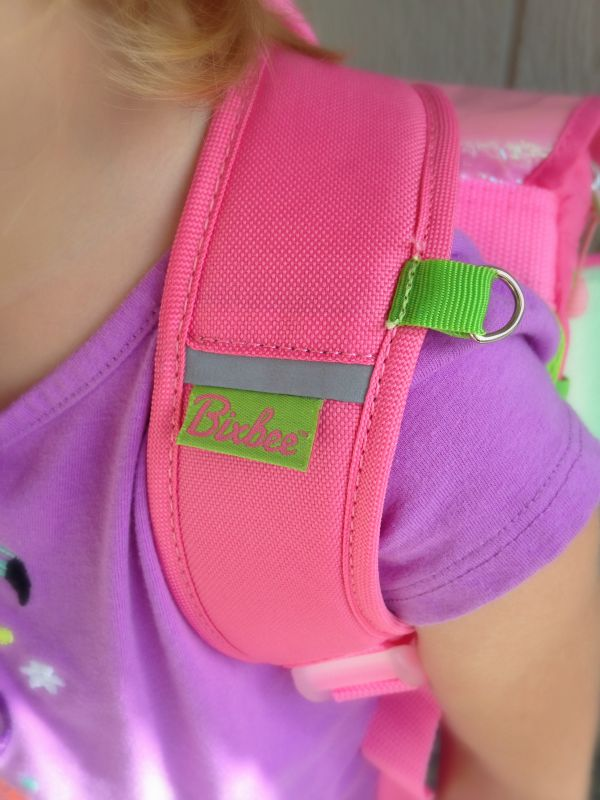 Bixbee looks out for the safety of the kids who wear their backpacks further by offering large, medium, and small sizes along with fitting instructions on their website.