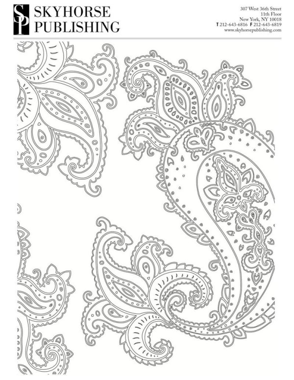 Need a quick way to relax? Download and print this free adult coloring page (along with four others!).