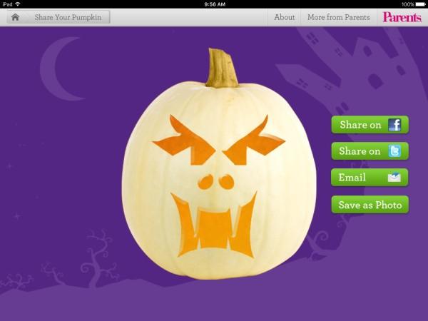 Carve-a-Pumpkin parents magazine