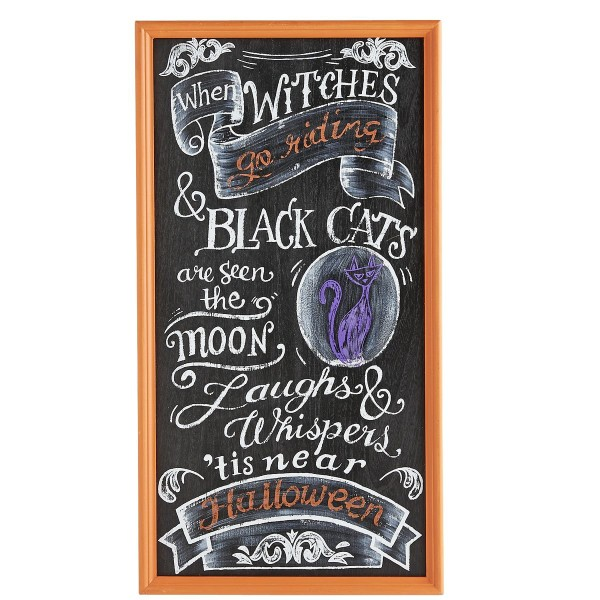 Chalkboard Witches