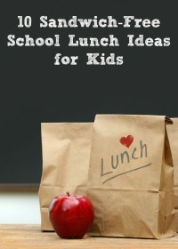 10 Sandwich-Free School Lunch Ideas for Kids (and moms too!)