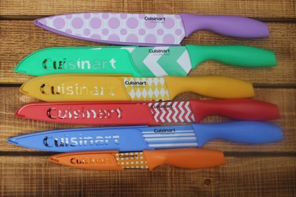 Holiday Cooking Kitchen Gear You Seriously Need: The Prettiest Cuisinart Knives in the World!