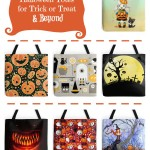 Halloween totes trick or treat