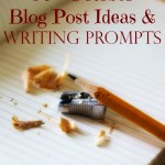 97  Blog Post Ideas & Writing Prompts for October