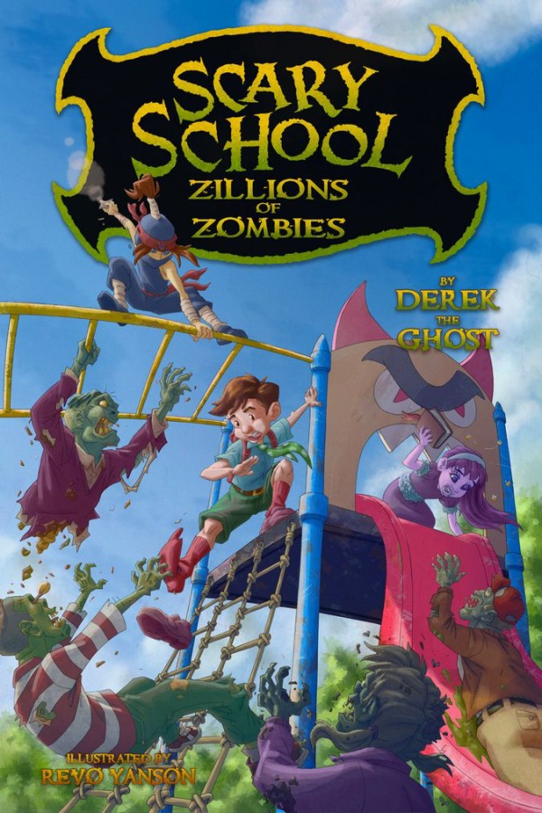 Check out Scary School #4: Zillions of Zombies by Derek the Ghost to see what fate befell out dear friend Charles Nukid after the end of the last installment!