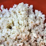 Tastefully Simple White Chocolate Pumpkin Spice Popcorn