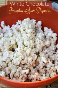 Tastefully Simple White Chocolate Pumpkin Spice Popcorn