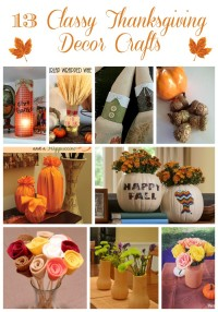 Looking for beautiful Thanksgiving decor ideas? Make your own with these great Thanksgiving crafts for adults that you can make this weekend!