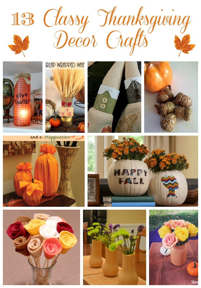 13 Classy Thanksgiving Decor Ideas You Can Make This Weekend