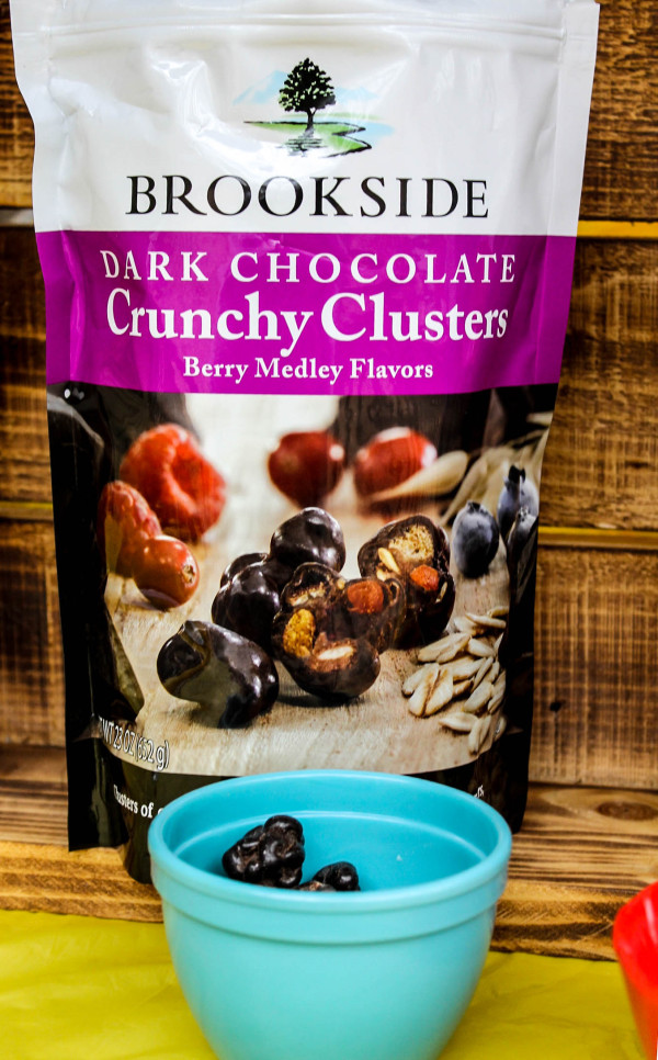 I would do backflips for a 100 lb bag of Brookside Dark Chocolate Crunchy Clusters Berry Medley Flavors! It's my favorite!