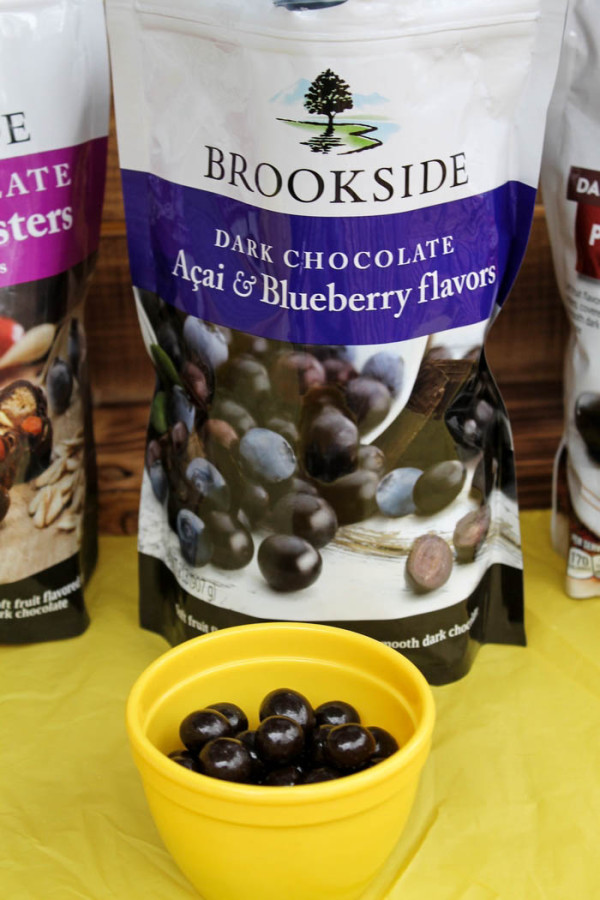 Can you imagine getting a 100 pound bag of these delicious Brookside Chocolates?