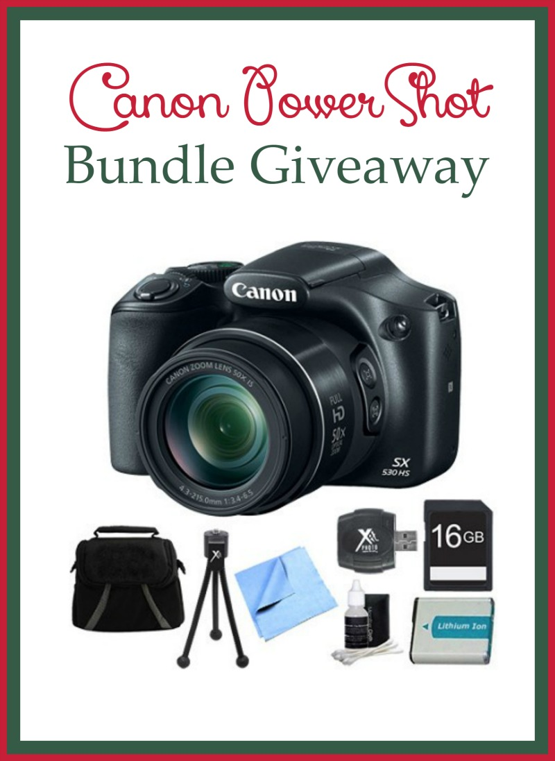 Capture Your Holiday Magic with the Canon PowerShot Bundle from BuyDig