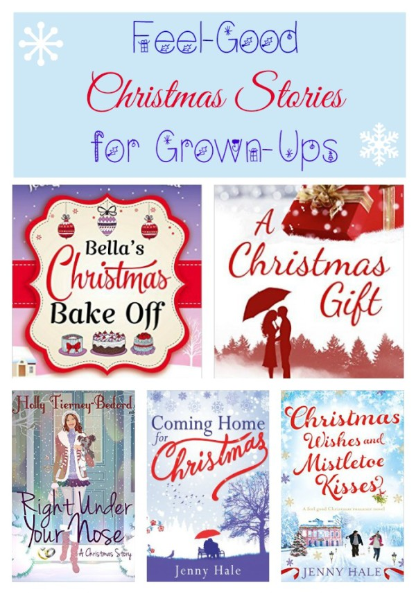 Get into the holiday spirit with these feel-good Christmas stories for grown-ups!