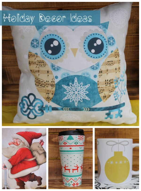 Bring a bit of the holidays into every corner of your life with original holiday decor ideas from Redbubble!