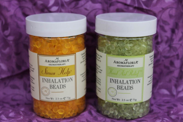Breathe Away Your Holiday Stress with AromafloriA Inhalation Beads