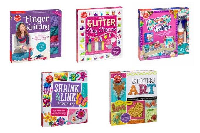Craft a Handmade Holiday with Klutz Books  #KLUTZhandmade
