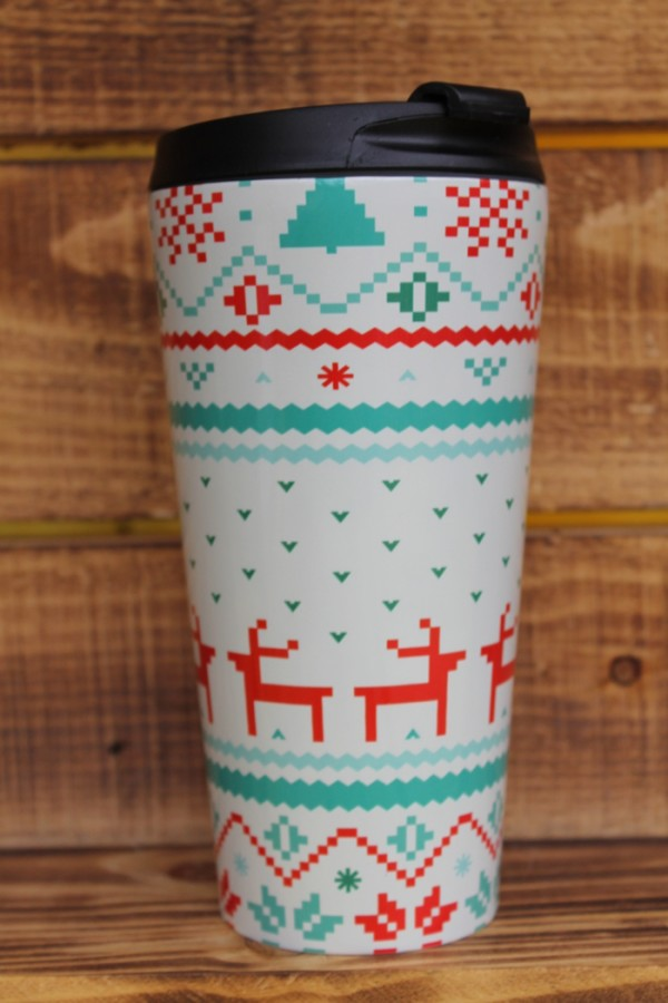 Redbubble Christmas Travel Mug
