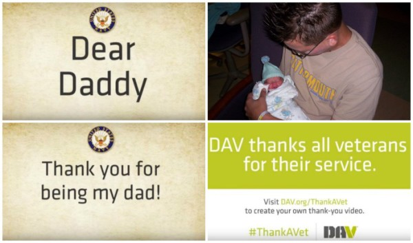 Create a DAV Thank a Vet Video in Minutes for a Touching Tribute that Lasts a Lifetime #ThankAVet