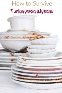 Saying things get messy during the holidays is an understatement. I bet it's the same way in your house too. I think it's like that in houses all across America on Thanksgiving. We're all facing our own Turkeypocalypse.