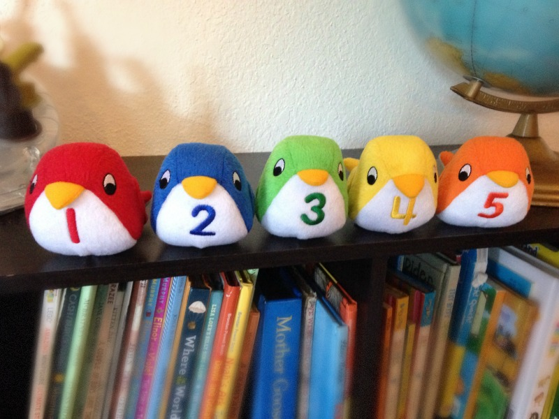 Gift Idea for Toddlers: Count and Chirp Birdies by Lakeshore