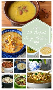 Nobody does soup recipes better than my fellow bloggers! I've rounded up a few of my all-time favorite soup recipes to get you through the winter, especially now that the cold is finally starting to show its ugly head. I hope you enjoy them.