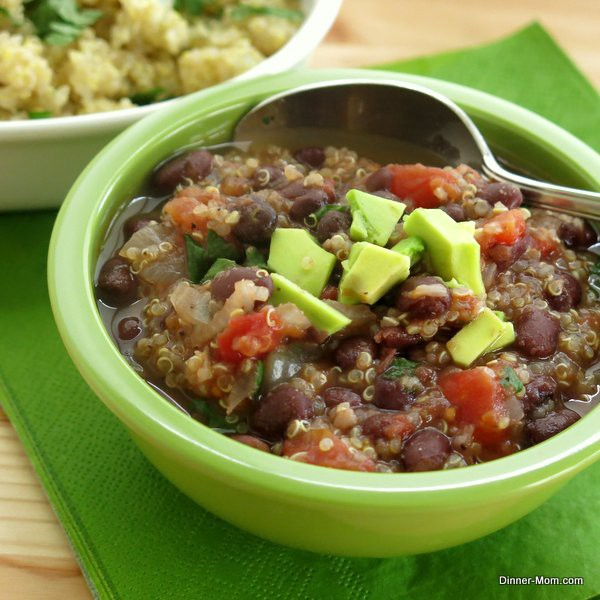 Black Bean and Quinoa Soup Recipe