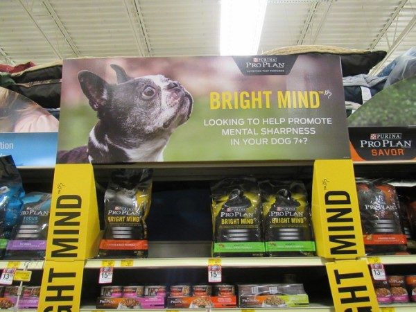 Got a clever pooch? Keep your senior dog's mind sharp with Purina Pro Plan BRIGHT MIND 7+ Formula!