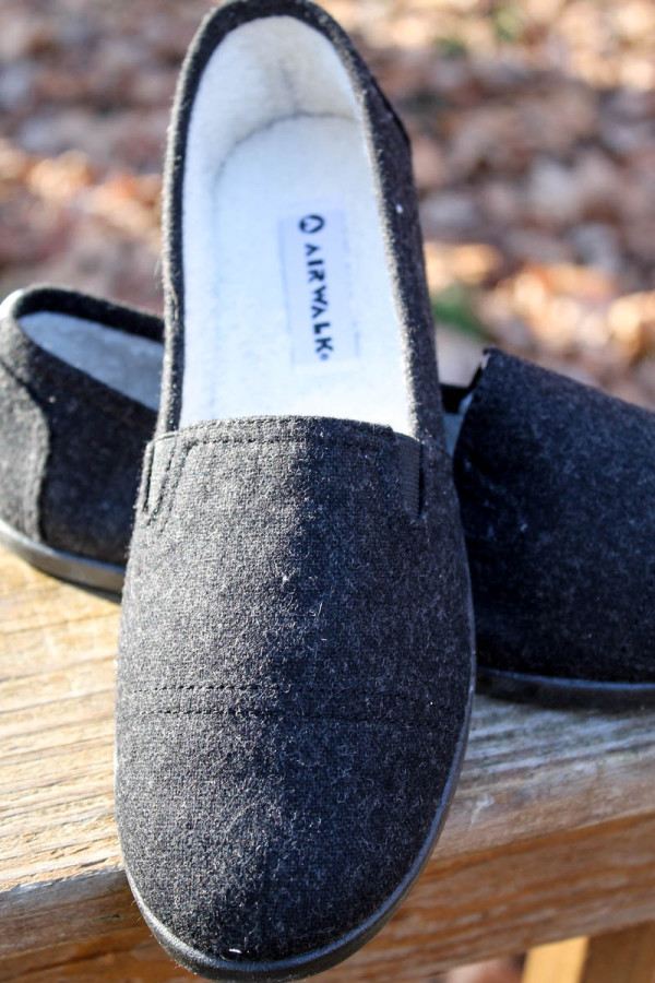 Snag a pair of casual dreamy slip-ons for those less formal holiday parties