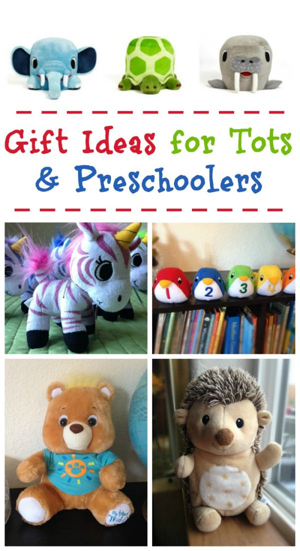 These holiday gift ideas for toddlers & preschoolers are fun and educational. Plus there's something for every budget!