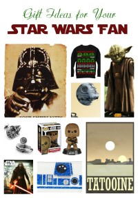 Now that the Force has awoken, let it inspire your holiday shopping with these great gift ideas for Star Wars fans! These ideas are perfect for all ages!