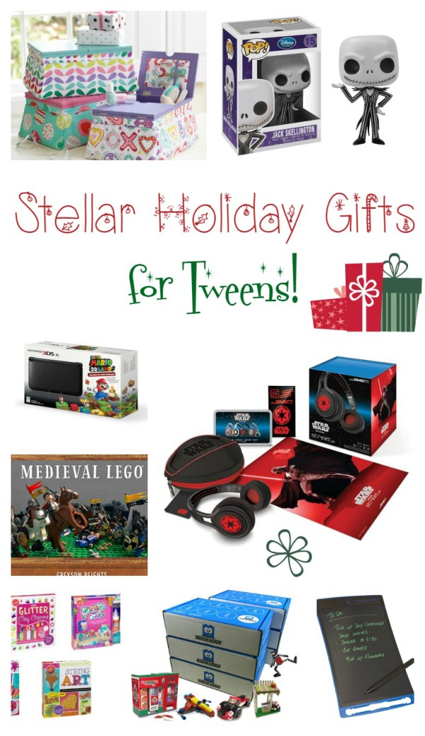 Tweens are notoriously hard to shop for. Trust me, I know! I have one myself! Check out out my favorite holiday gift ideas for tweens to help us both out!